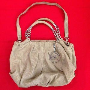Michael Kors handbags in cement color